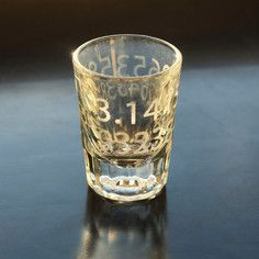 Pi Shot Glass Set Of 2, $20, now featured on Fab.