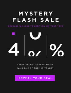 Learn how to run a flash sale, and check out examples of successful ecommerce flash sales to kickstart your own strategy. Minimal Web Design, Mailer Design, Ad Design, Graphic Design, Black Friday, D Lab, Email Layout, Mystery, Email Marketing Design