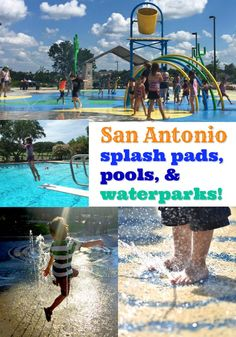 A guide to San Antonio area splash pads, pools, and waterparks