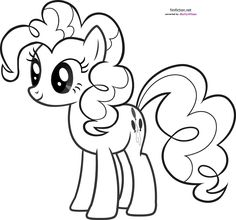 My Little Pony Pinkie Pie Coloring Pages | Coloring99.com