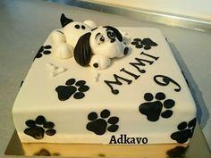 Psik na torte:) Autorka: Adkavo. Torty, pes, psík, zvieratká, pre deti. Tortyodmamy.sk.