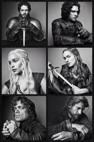 Game Of Thrones Season 3 Portraits.