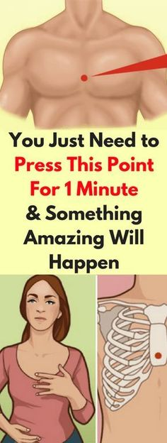 YOU JUST NEED TO PRESS THIS POINT FOR 1 MINUTE AND SOMETHING AMAZING WILL HAPPEN! FIND OUT WHAT