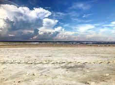 Cottage Rentals, Tybee Island, Heaven, Clouds, Beach, Instagram Posts, Water, Outdoor, Gripe Water