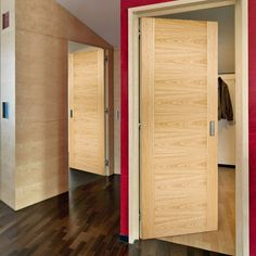 "Internal Doors - Glazed, Panel, Wooden, Oak - Direct Doors UK – Tagged ""flush-doors"" – Page 2 Pine Internal Doors, Cheap Internal Doors, Contemporary Living Room Furniture, Contemporary Doors, Modern Door, Primed Doors, Door Fittings, Flush Doors, Windows"
