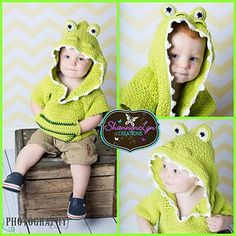 """Crochet Pattern: """"Friendly Lil Monsters"""" Swim Cover-Ups by A Crocheted Simplicity  #handmade #crochet #crochetpattern #crochetswimcoverup #crochetcoverup #swimcover"""