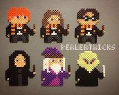 The #HarryPotter gang needed expanding. #Snape #Dumbledore and #Voldemort round out the set. Original designs.
