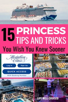 Are you new to Princess Cruises, or perhaps a Princess Cruise fan who wants to learn more? Here are the very best Princess Cruise tips and tricks, as well as hacks you really need to know! Save money on a Princess Cruise, Princess Ocean Medallion, Free Princess Cruise Food, Beveraga package and more! #princesscruise #princesscruisetips #cruisetips #cruises Cruise Port, Cruise Travel, Cruise Vacation, Packing List For Cruise, Cruise Tips, Best Cruise Ships, Cruise Reviews, Cruise Destinations, Cruise Outfits