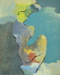 Justino Alves Figura II - 147)09 2014 Oil x Canvas 100 cm x 81 cm  #Art #Gallery #SãoMamede #JustinoAlves #Oil #Paintings #Color #Artwork