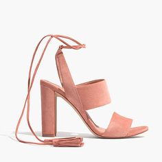 cafe pink sandal Pink Sandals, Suede Sandals, Sandal Heels, Shoes Sandals, Flats, Crazy Shoes, Me Too Shoes, Walk In My Shoes, Tie Shoes
