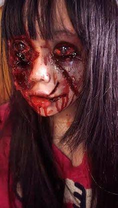 Blood Shot Zombie Eyes,Phantasee Quasar Sclera Lenses