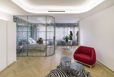 Gallery of Three Apartments in Madrid / Fast and Furious Production Office.