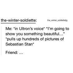 When will the world realize Sebastian Stan is perfect?