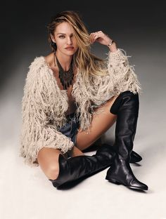 candice swanepoel free people 2014 1 Candice Swanepoel is Western Chic for Free Peoples July Catalogue