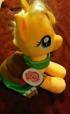 Build A Bear Babw My Little Pony AppleDash With Cape  Stuffed Cute