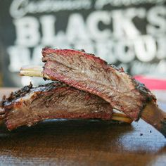 Blacks barbecue does ribs better than almost anyone. #ribs #bbq