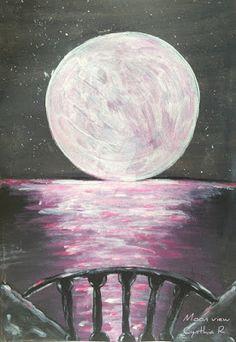 Arte-don-y-pasion : MOON VIEW