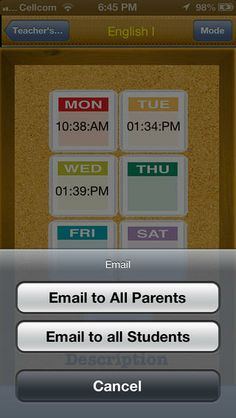 app to keep track of school assignments