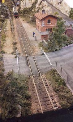 Ho Trains, Model Trains, Train Ho, Ho Train Layouts, Grass, Scenery, Models, Landscape, Dioramas