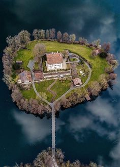 Someone needs to get the hell out of my house! Beautiful Castles, Beautiful Homes, Beautiful Places, Dream Mansion, Fantasy Places, Abandoned Castles, Small Island, Cabins In The Woods, Places Around The World