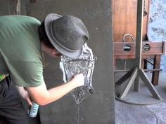 Tutorial on how to do cobwebs similar to Disney's haunted mansion. This is so cool!
