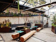 patio design for beer garden - Google Search