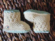 You're going to love the sweetness of these baby boots! I think that the clusters on the cuff give them style and that extra touch of cuteness. I have the pattern written in 3 sizes for newborn to approx 12 months so you can make them in a variety of sizes for your family and loved ones.
