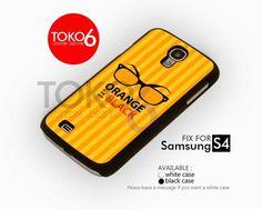 AJ 4201 Orange is the new Black Logo - Samsung Galaxy S IV Case | toko6 - Accessories on ArtFire