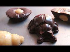 How to Make 5 Ingredient Chocolate (Vegan, Gluten Free, Sugar Free) - YouTube