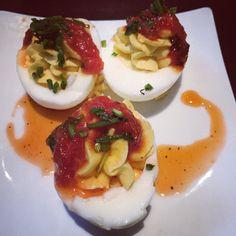 Wordless Wednesday: Yard House Deviled Eggs