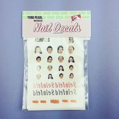 One of our favourite comedies!  Seinfeld Nail Decal packs from http://ift.tt/1ihQVKN  . . .  #shopping #sale #boutique #indie #shopsmall #smallbusiness #girlboss #shop #onlineshop #onlinestore #clothing #fashion #gifts #gift #tattoo #tattoos #nailart #naildecals #yvngpearl #seinfeld #nosoupforyou #jerryseinfeld