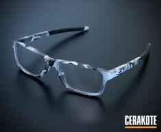 e84a030f3c A customized pair of Oakley reading glasses using Cerakote in an urban  multicam pattern. Oakley