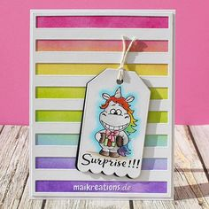 """Surprise! This is my first card for #gerdasteinerdesigns using the """"Moody…"""