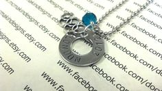 Summer Olympics inspired pendant necklace