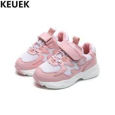 5231422ce Nuevos Niños Zapatos Deportivos de Niños Niñas Malla Zapatos Casuales Niños  Hook   Loop de Pisos