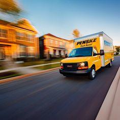 Follow Penske Truck Rental on Instagram for great photos and to see how we help people move ahead in business and in life. #NeverStopMoving #moving #Penske #trucks #trucking