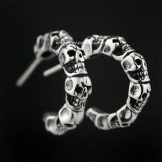 Image result for biker earrings