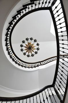 simple and elegant spiral staircase