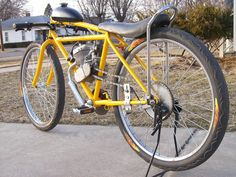motorized bicycle cafe racer - Google Search