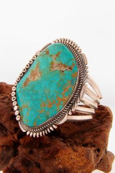 turquoise jewelry native american | Found on twodogssouthwestgallery.com