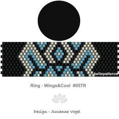 peyote ring patternPDF-Download 057R beading pattern
