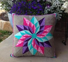 Good Luck Star Pillow | Craftsy