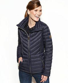 MICHAEL Michael Kors Coat, Packable Quilted Puffer - Coats - Women - Macy's