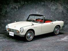 Beautiful littleHonda S500 Roadster.  I had a friend that this was his first car. Honda's first car  (1963) honda.com