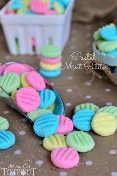 Pretty Pastel Mint Patties