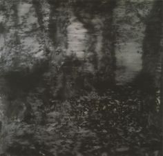 The forest as subject matter figures in Richter's oeuvre since the 1960s. 'Forest piece' from 1965, although based on a photograph, oscillates between figuration and abstraction.