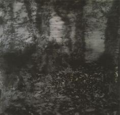 Gerhard Richter (German, b. 1932), Waldstück [Forest Piece], 1965. Oil on canvas, 150 x 155 cm.viaviennacalls