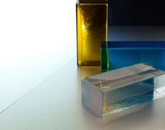 Poesia Glass Bricks from Brickworks | Yellowtrace