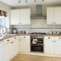Neutral Shaker kitchen makeover | Be inspired by this simple Shaker kitchen makeover | housetohome.co.uk