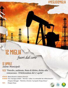 """Manduria (Taranto) - Petrolio e rifiuti: la criminalità dei colletti bianchi""""."""